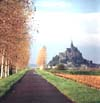 Mt. St. Michele, Road, Normandy, France