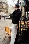 Waiter, Deux Magots, Paris, France